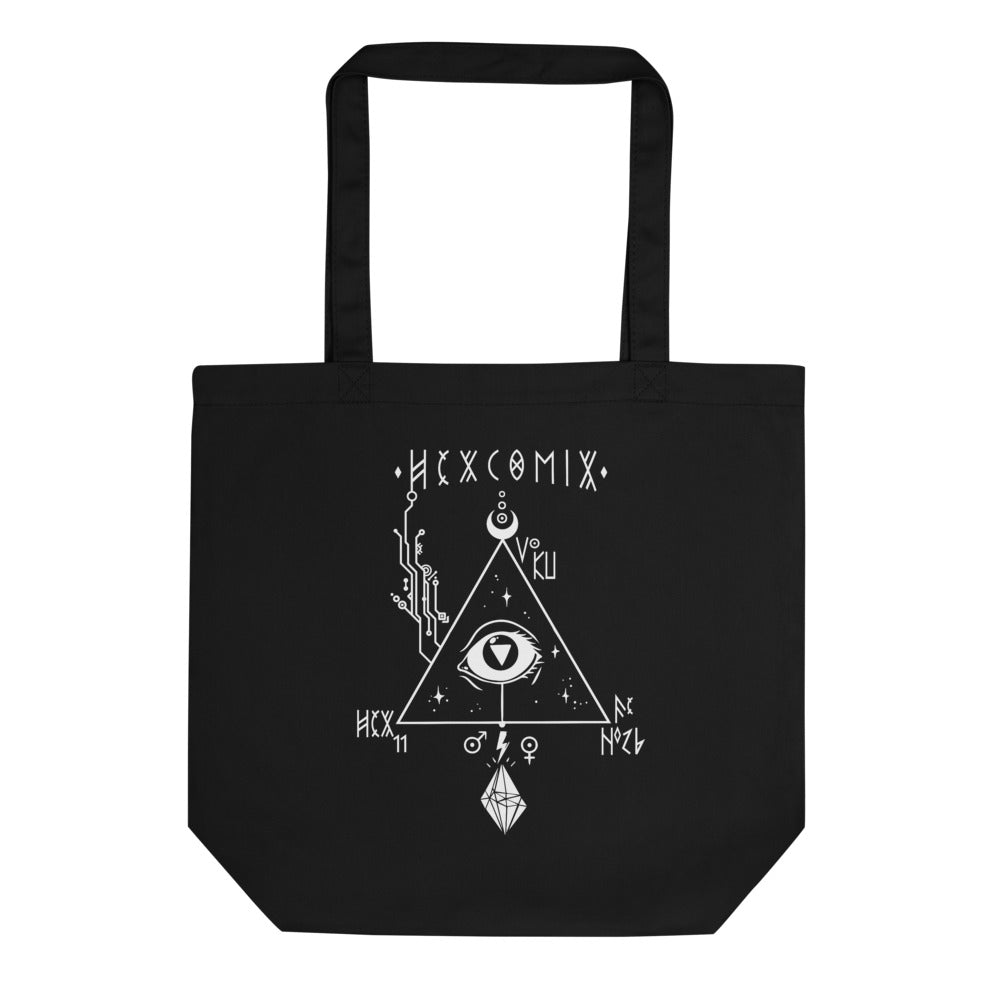 HexComix Eco Tote in Black Magick