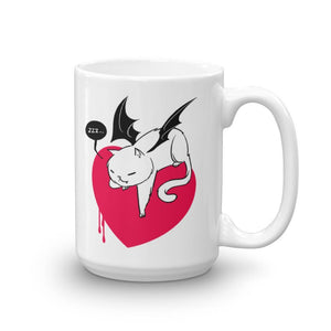"""Don't Wake The Dragon Kitty"" Mug"