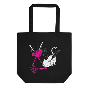 Dragon Kitty Eco Tote Bag - SweetHeart