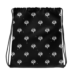 Hex Eye - Drawstring bag