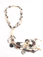 Bone Tangles Necklace