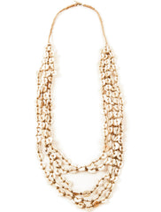 Ostrich Shell Necklace