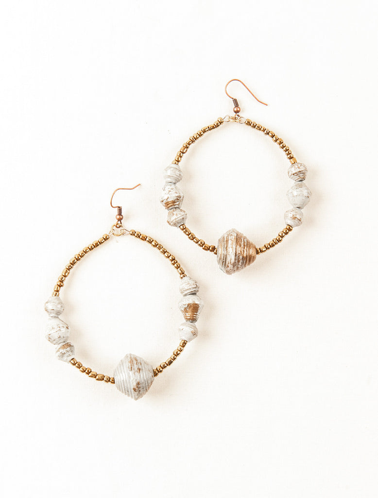 Dawn Hoop Earrings