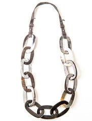 Chunky Chain Horn Necklace