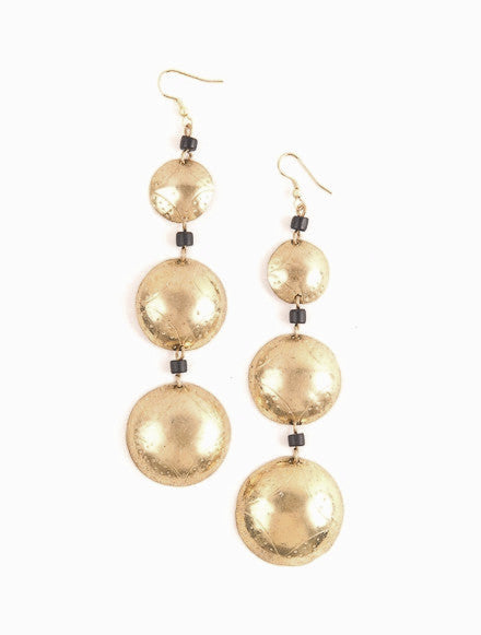 Conge Drop Earrings