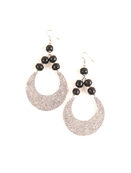 Sufaria Moon Earrings