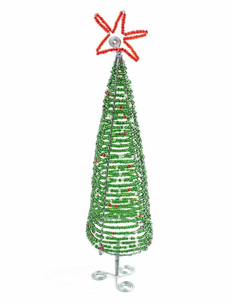 Glass Beaded Christmas Tree