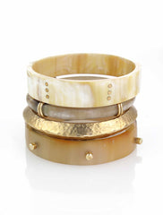 Brass Wrap Horn Bangle