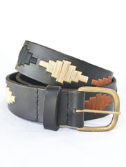 Diamond Leather Belt