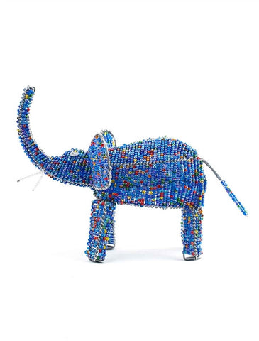 Glass beaded Elephant