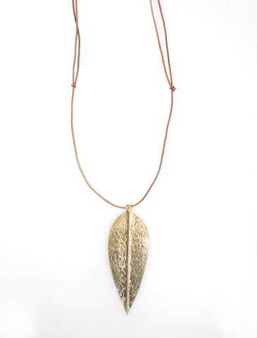 Leaf Drop Necklaces