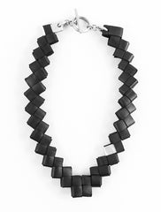 Rubber Geometric Necklace