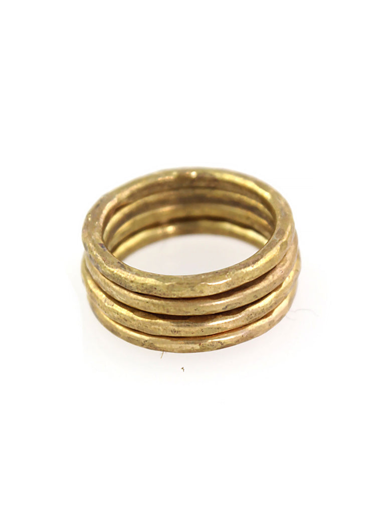 4 x Brass Rings