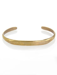 Simple Brass Cuff