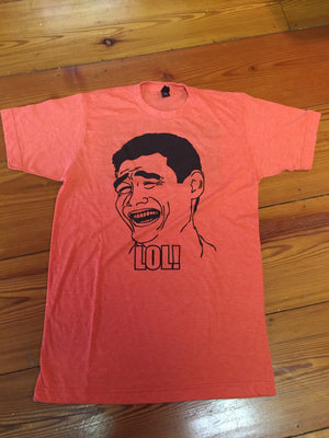 Laugh Out Loud - Orange tee