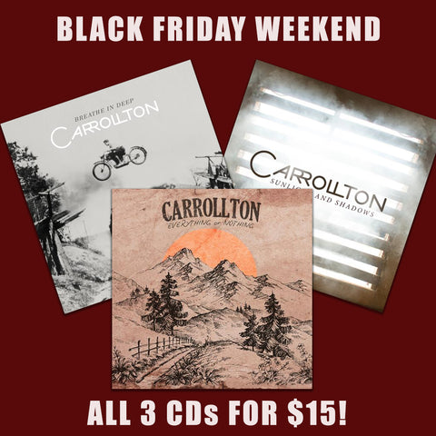 Carrollton 3 CD Bundle