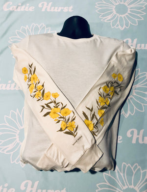 Flowers Long Sleeve Tee