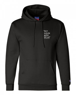 """Left Out"" Hoodie"