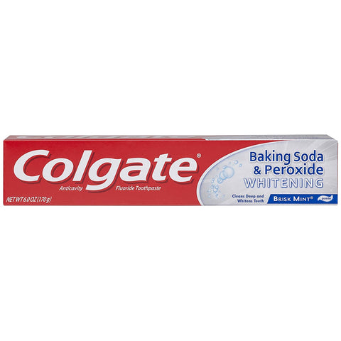 Colgate Baking Soda Peroxide Toothpaste