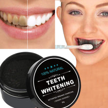 Load image into Gallery viewer, Teeth Whitening Charcoal POWDER Toothpaste