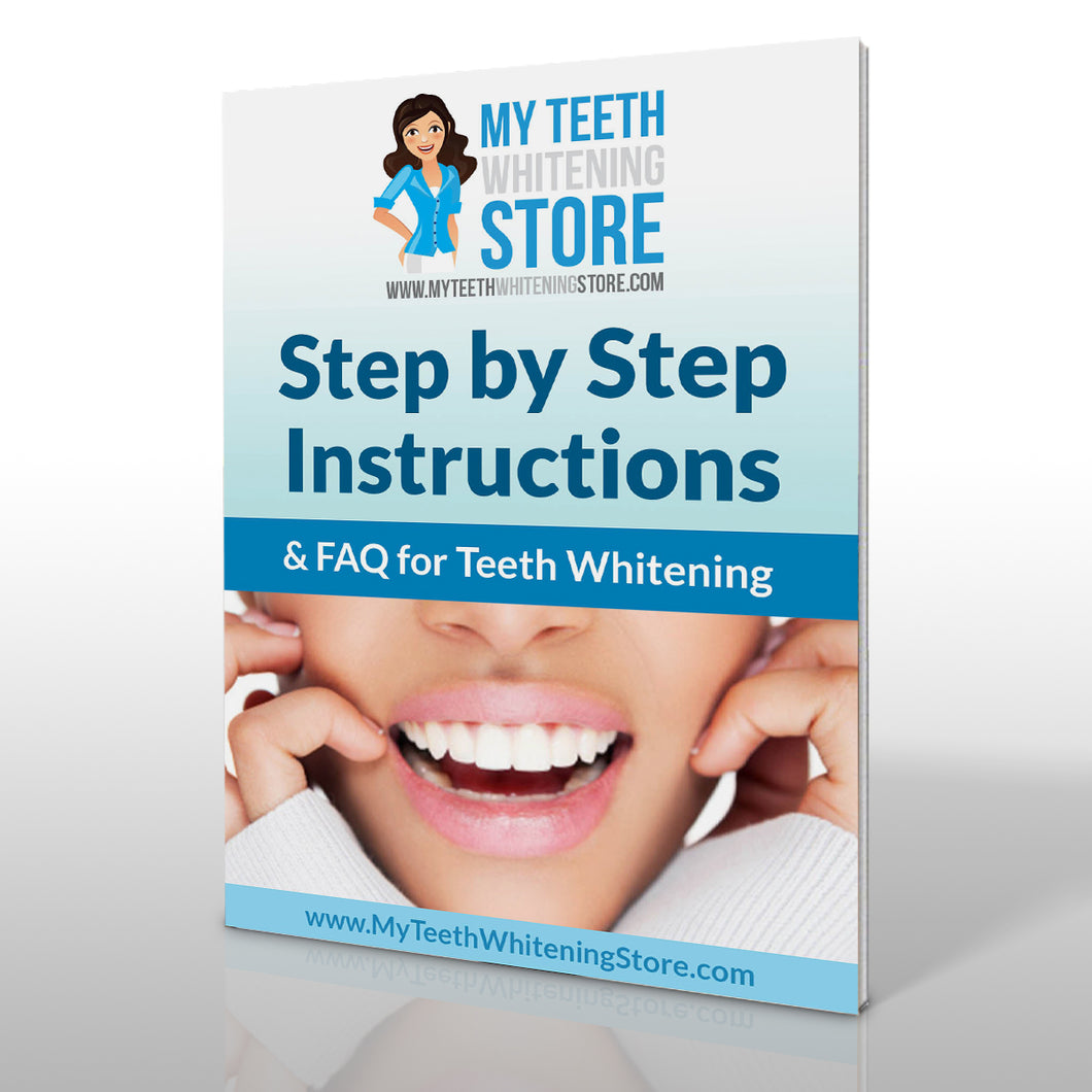 Teeth Whitening Instruction Manual
