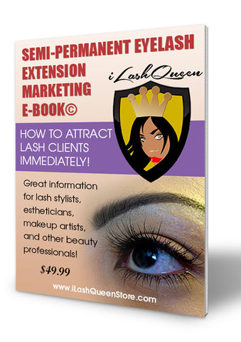 Marketing eBook for Semi-Permanent Lashes©