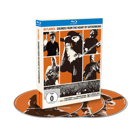 Sounds From The Heart of Gothenburg Blu-Ray