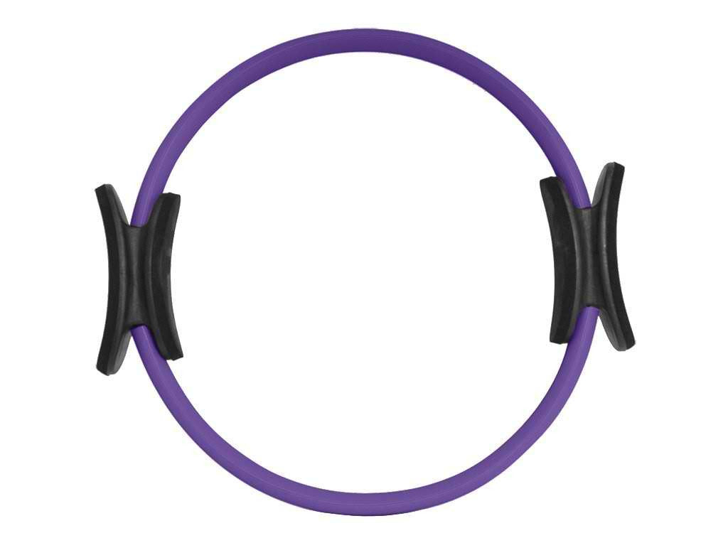 "Pilates Resistance Ring 14"" Dual Grip Handles"