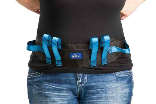 Walking Gait Belt with 6 Hand Grips