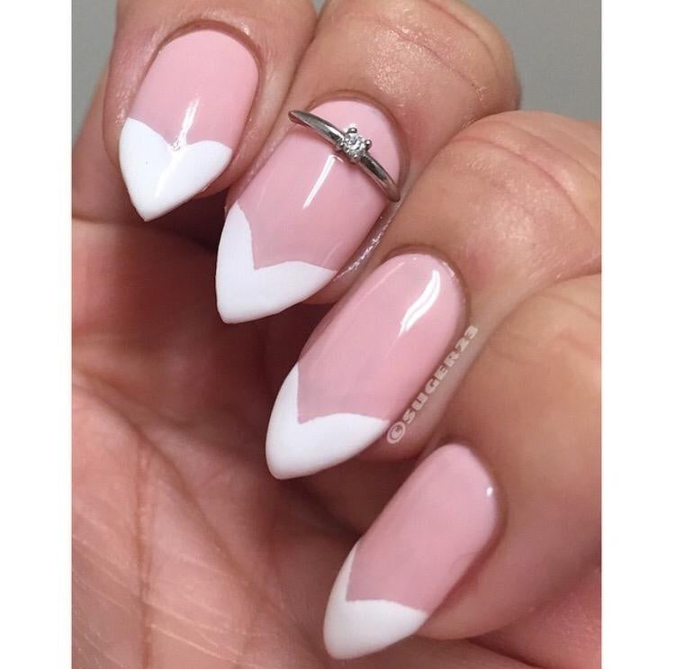 Lexie\'s French Tip Vinyls | Twinkled T | $4