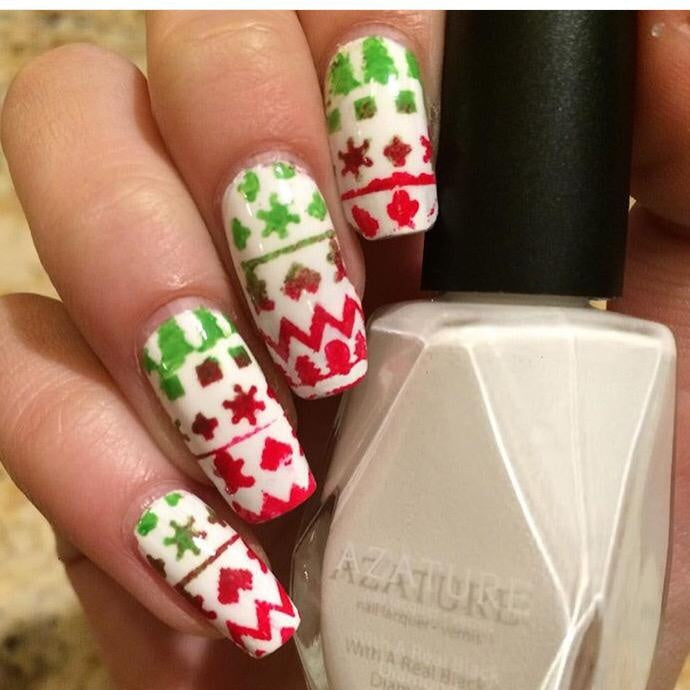 Ugly Sweater Stencils - Twinkled T - 3