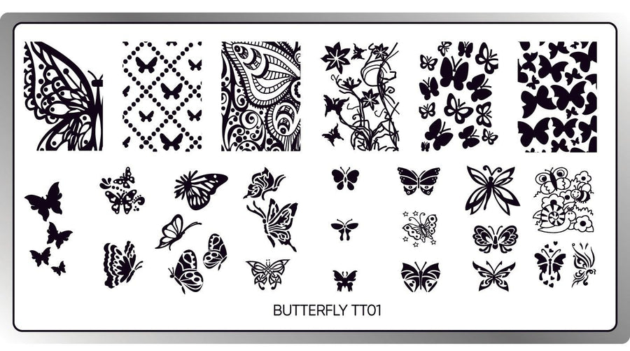 Butterfly Stamping Plate
