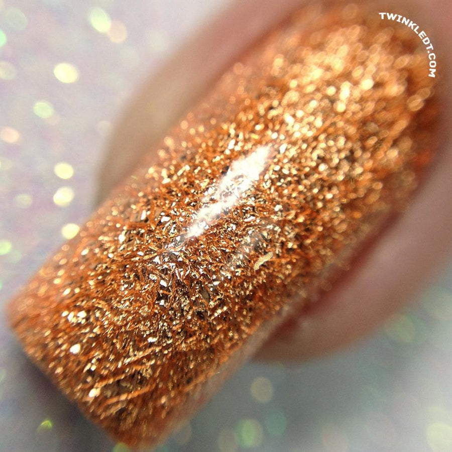 Rose Gold Nail Foil Pot