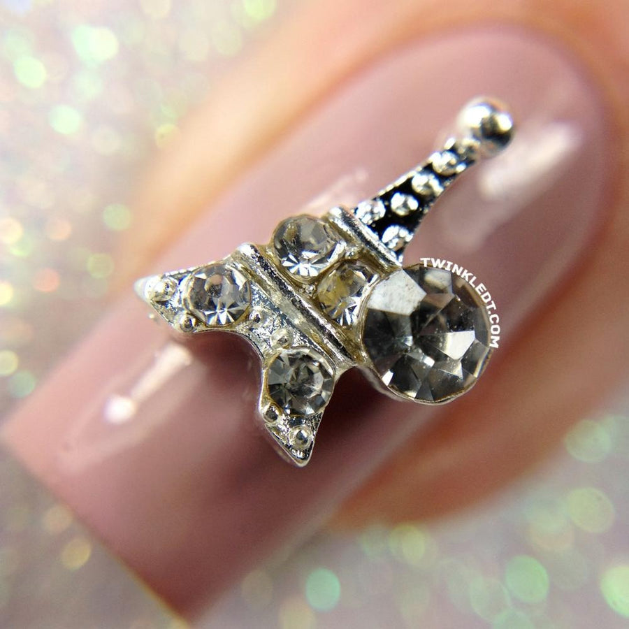 Crystal Eiffel Tower Charm