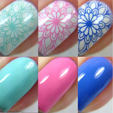 Spring Break Stamping Polish Bundle