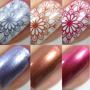 Wine Night Stamping Polish Bundle