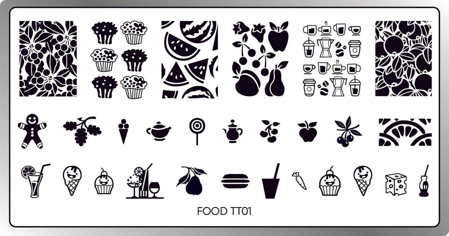 Food Stamping Plate