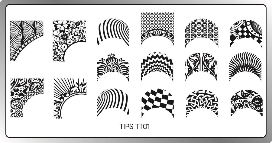 Tips Stamping Plate