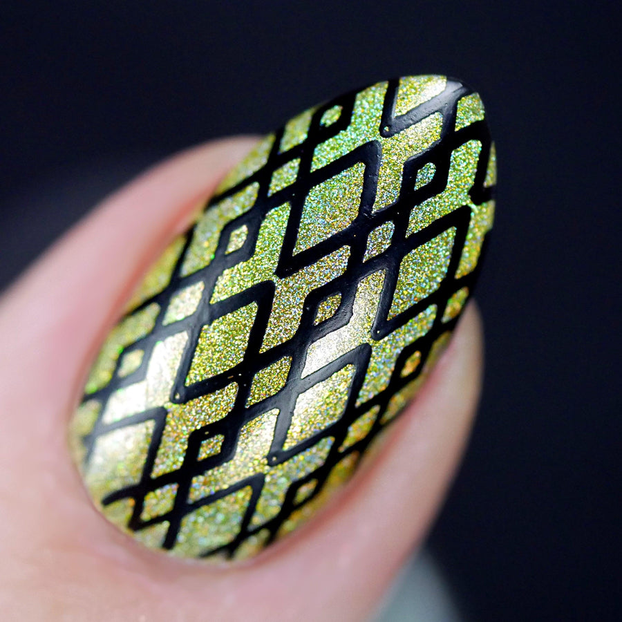 Geometric 1 Stamping Plate