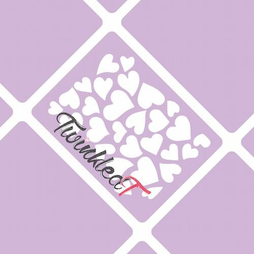 Hearts Stencils - Twinkled T - 1