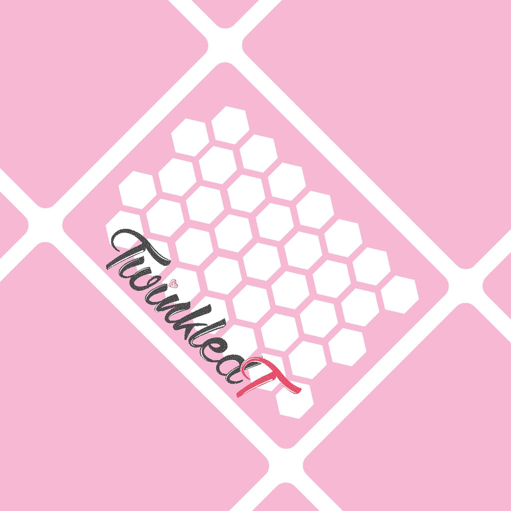Honeycomb Stencils - Twinkled T - 1