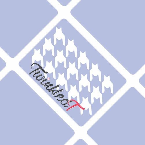 Houndstooth Stencils - Twinkled T - 1