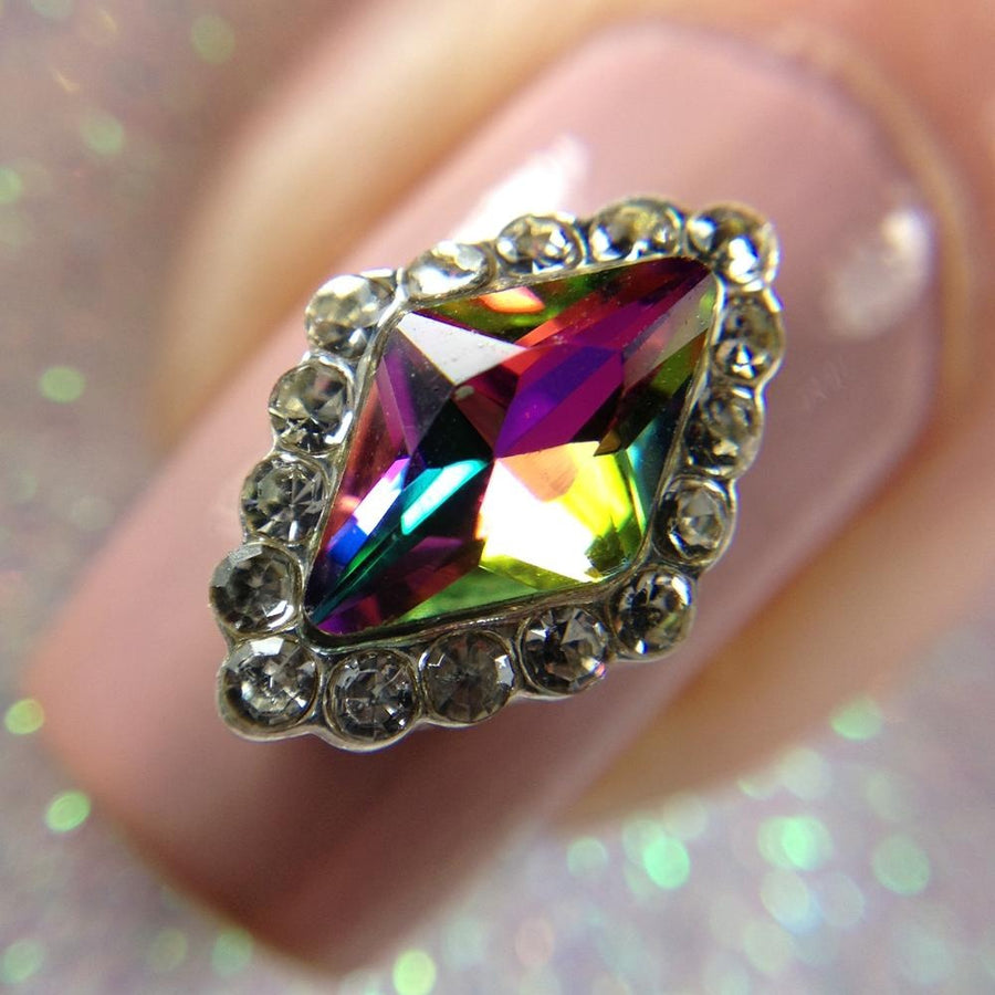 Duochrome Diamond Charm
