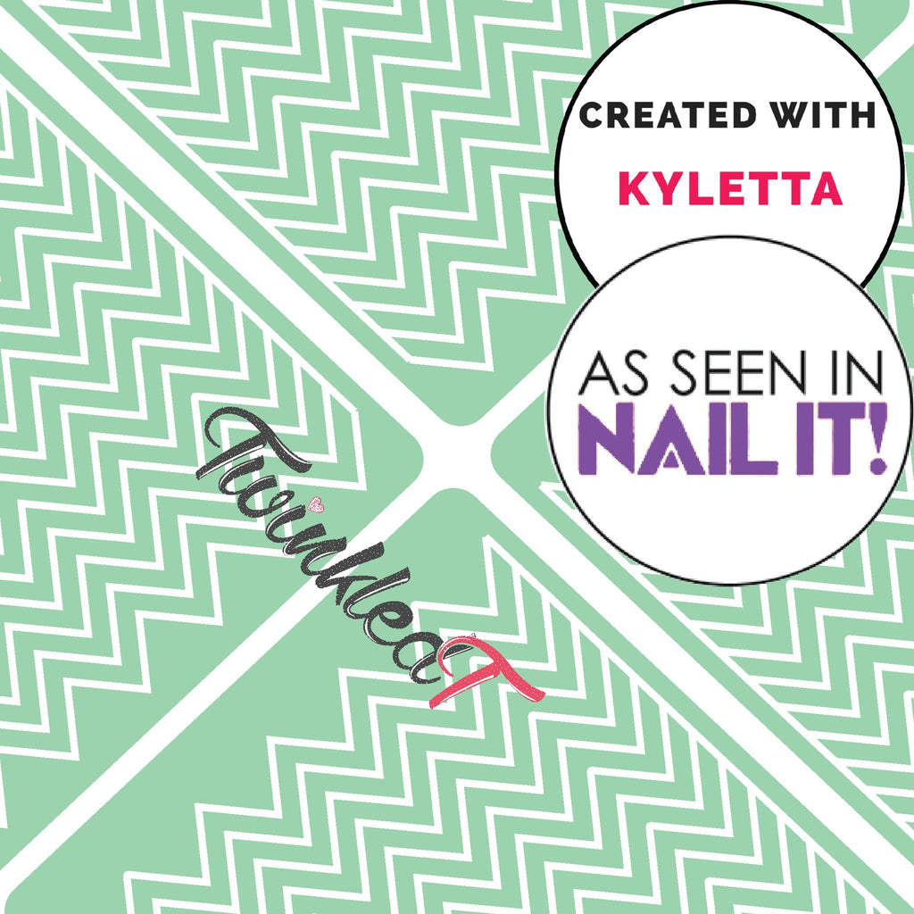 Kylie's Chevron Vinyls - Twinkled T - 1