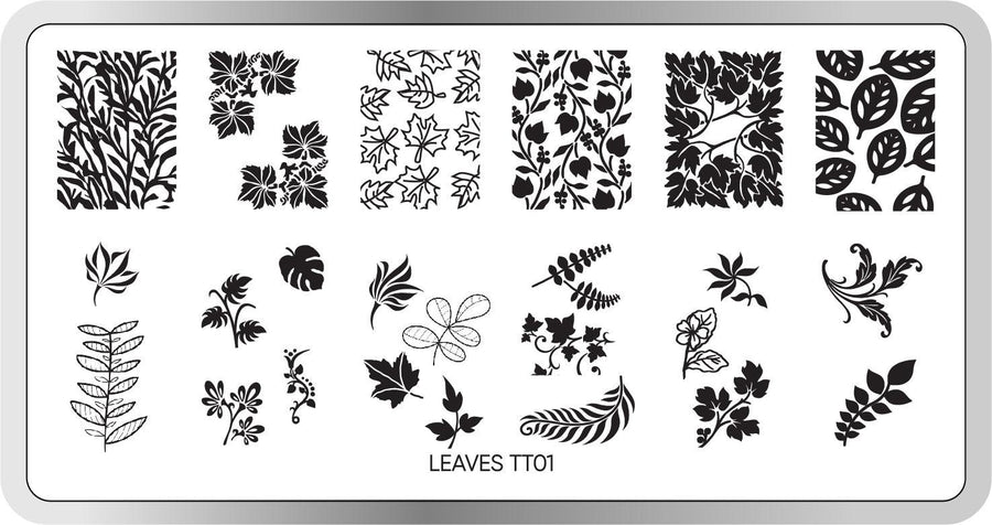 Leaves Stamping Plate