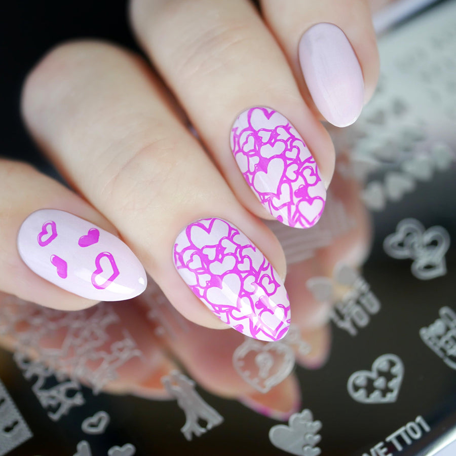 Love Stamping Plate