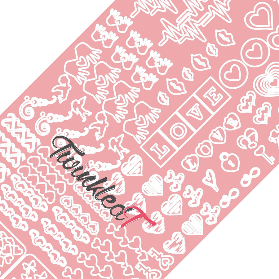 Love Variety Sheet Vinyls - Twinkled T - 1