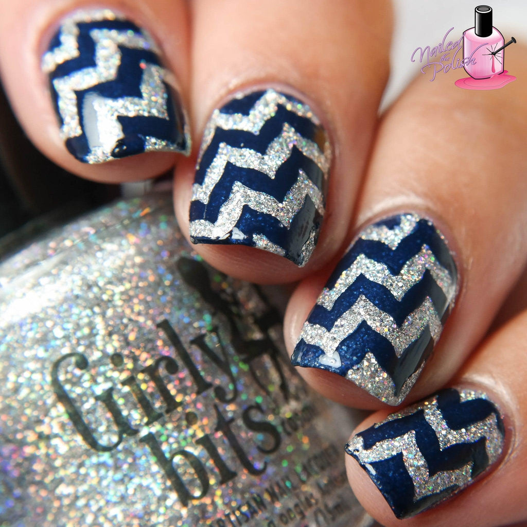 Nailed The Chevron Stencils - Twinkled T - 2