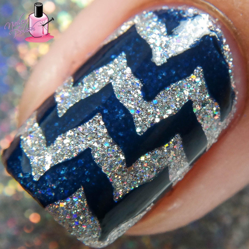 Nailed The Chevron Stencils - Twinkled T - 3