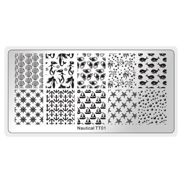 Nautical Stamping Plate